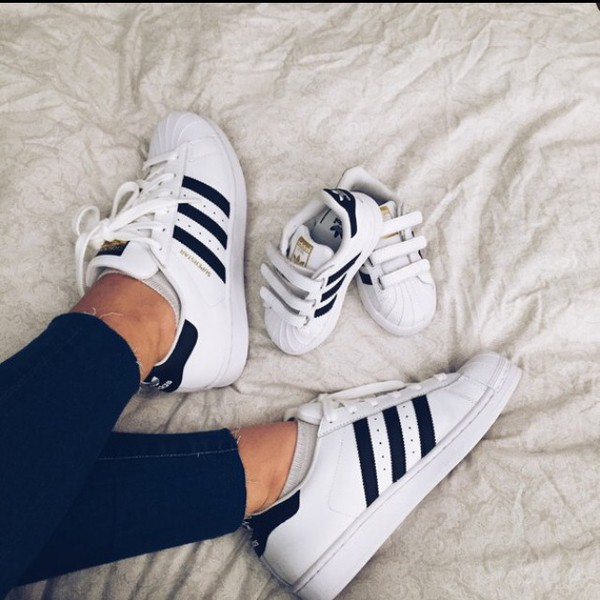 new concept 7aa18 f722f adidas superstar j sneaker c77154 trainersoutlet
