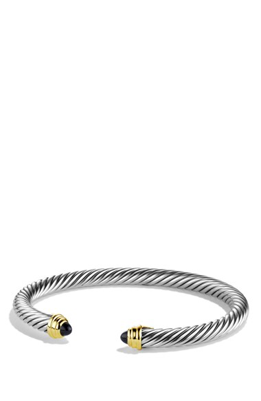 David Yurman 'Cable Classics' Bracelet with Semiprecious Stones & Gold | Nordstrom