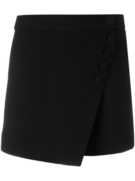 Chloe skorts women black silk skirt