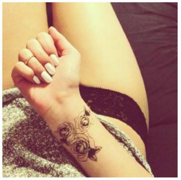nail polish fake tattoos fake tatoo temporary tattoo