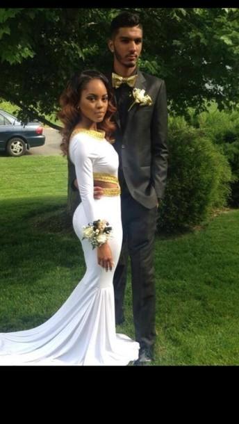 Dress Slay White Dress Prom Dress Wheretoget
