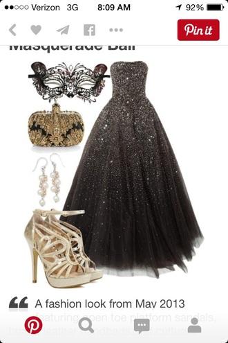 dress prom dress banquet dress masquerade pinterest black dress