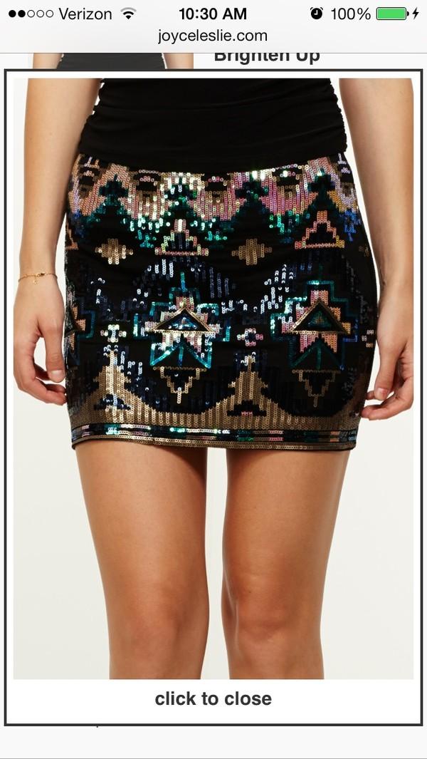 skirt sparkle