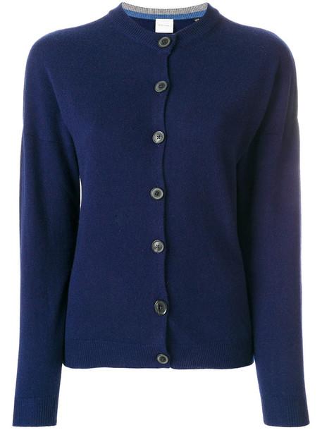 Paul Smith cardigan cardigan women classic blue knit sweater