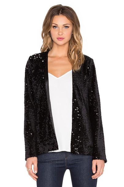 Michael Stars jacket long black