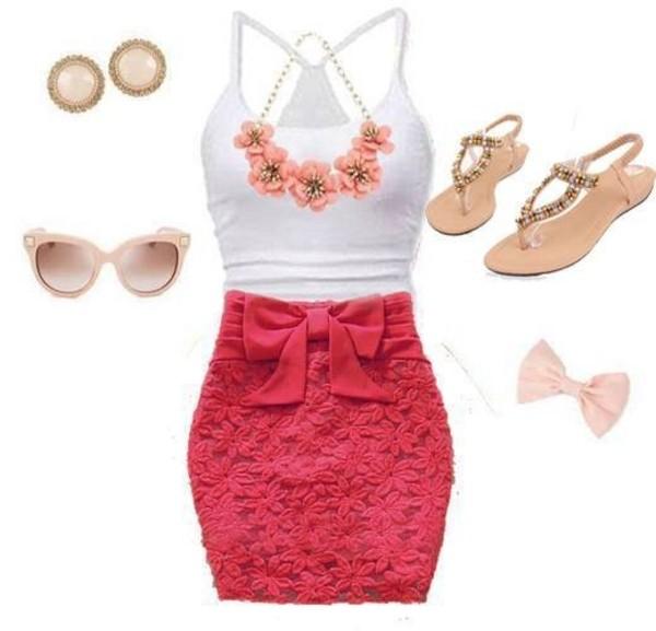 jewels summer summer ready top dress skirt blouse