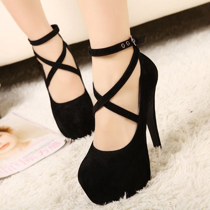 Free Shipping 2013 Summer Women's Sexy Pumps Vintage Red/Black Bottom Platform Strappy High Heels Party Shoes(size 5 8.5), L0505-inPumps from Shoes on Aliexpress.com