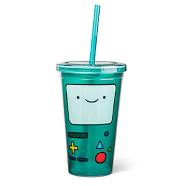 jeans cup adventure time straw