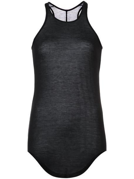 Rick Owens tank top top women black silk