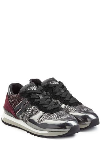 sneakers. metallic sneakers platform sneakers leather multicolor shoes