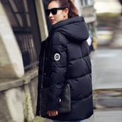 coat,black,winter coat,winter jacket,parka