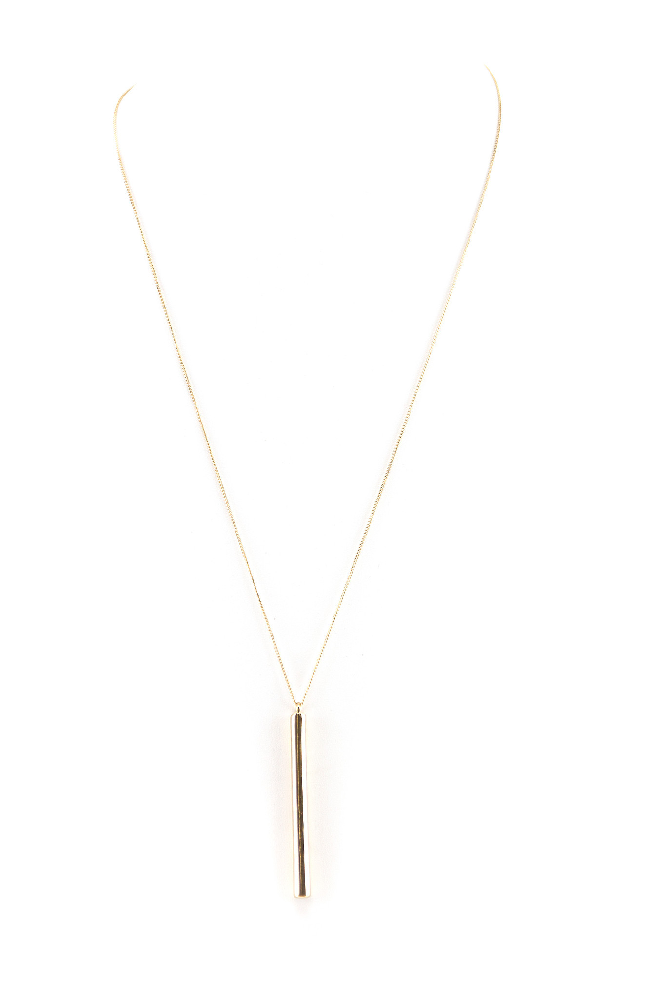 PETITE PIPE CHIME PENDANT NECKLACE | Haute & Rebellious