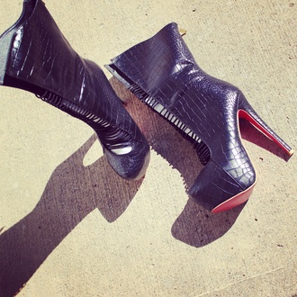 shoes black leather streetstyle streetwear street street goth heels high heels boots
