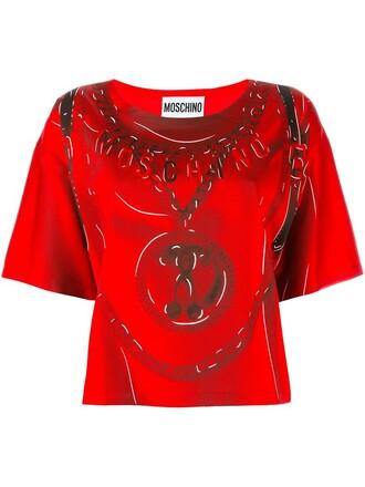 t-shirt shirt red top