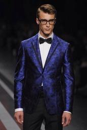 jacket,mens blazer,prom menswear,prom,blue,blazer,dope,blazer suit top,black top,menswear