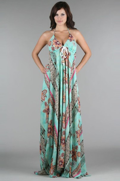 empire waist long dress - Dress Yp