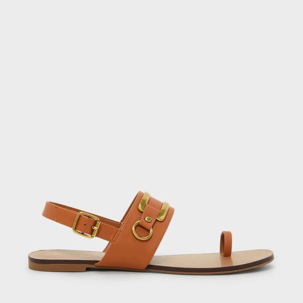 sandals orange shoes