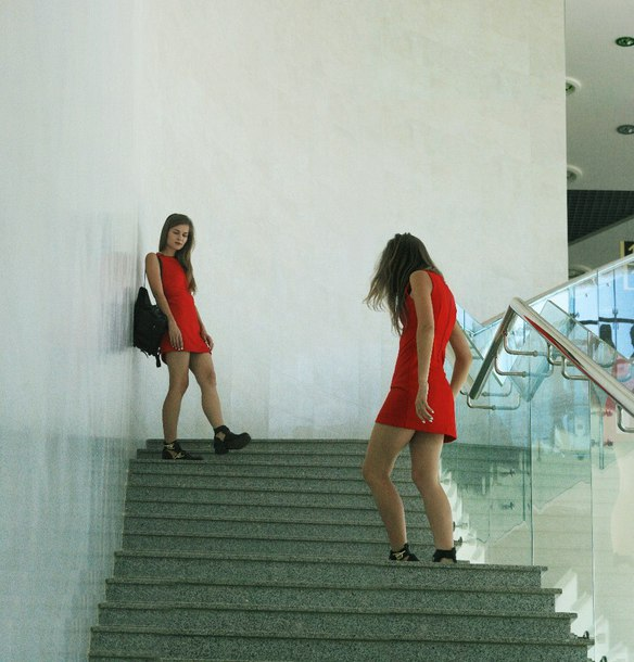 dress mini dress red dress shoes boots black boots black shoes