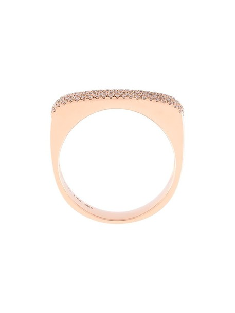 EF COLLECTION metallic women embellished ring jewels