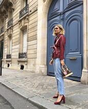 fashion landscape,blogger,shoes,pants,louis vuitton bag,pumps,high heel pumps,leather jacket