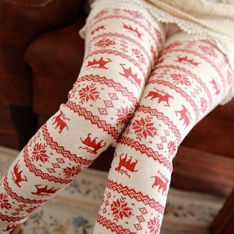 leggings christmas leggings