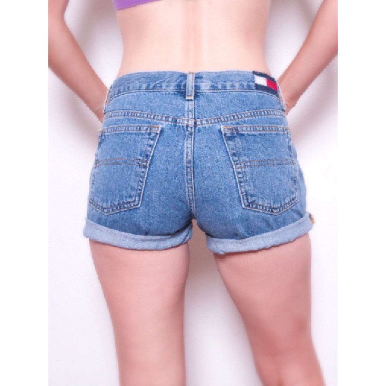 Hilfiger Jean Shorts \\ Tommy Hilfiger Jeans \\ High Waisted ...