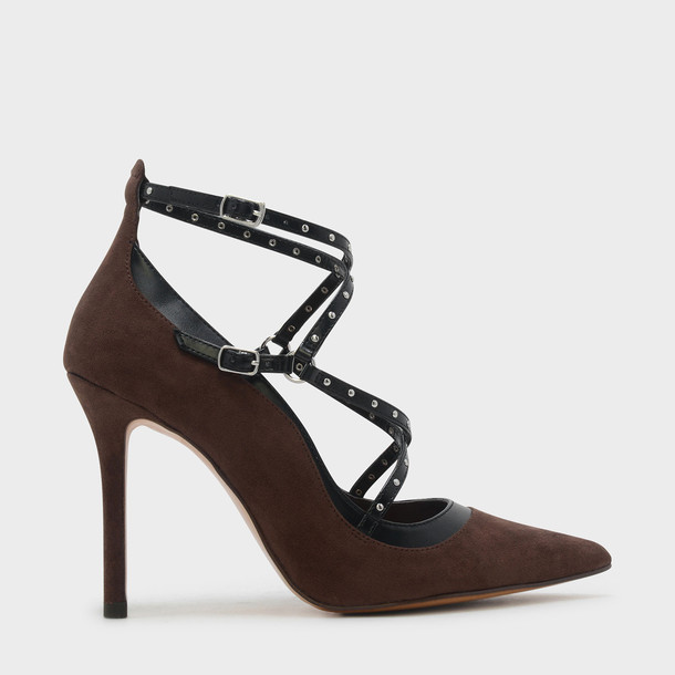 strappy pumps shoes