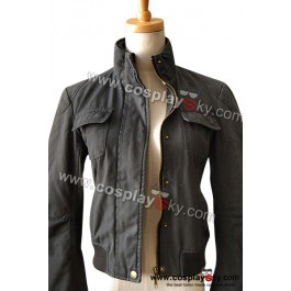 Twilight Eclipse Bella American Eagle AE Bomber Jacket |  CosplaySky.com
