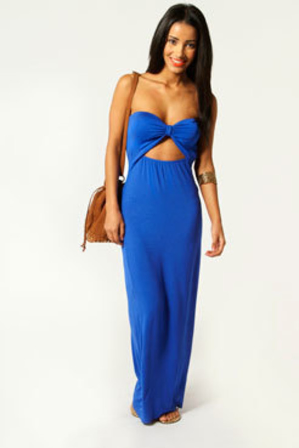 dress maxi dress bandeau