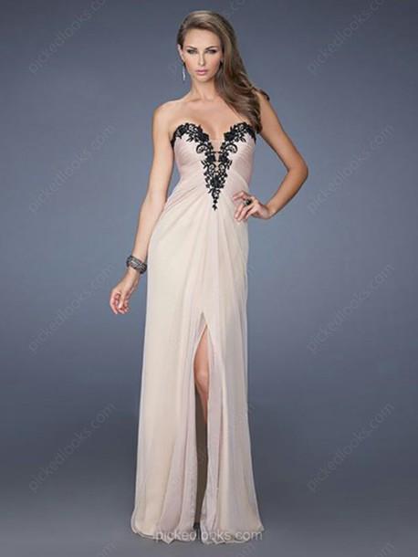 dress ball gown dress long dress lace embroidery chiffon