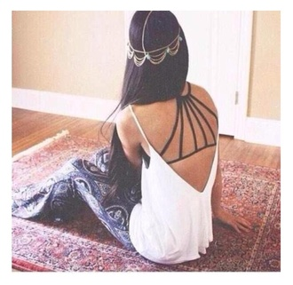 hair accessory bell bottoms hair hippie accessory top bralette black underwear