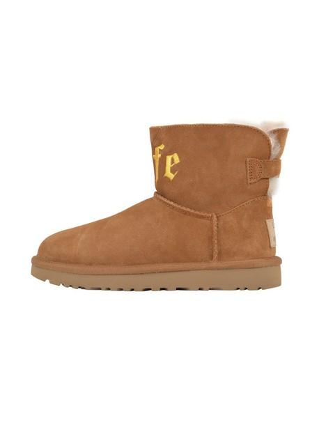 Ugg boot mini beige shoes