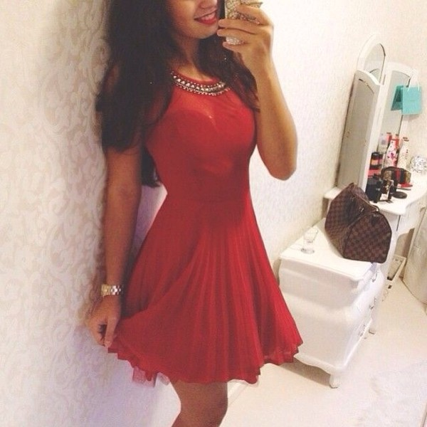 dress red bag red dress love more embellished dress flowy cheeky flirty flowy dress cheeky dress flirty dress sexy dress cute dress prom dress chiffon classy
