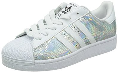 Amazon.com: Adidas Women's Superstar 2 W, WHITE/SILVER ...