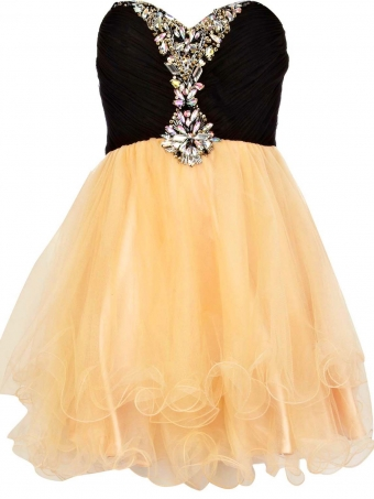Cute mini prom dress/homecoming dress [D0034] - $132.99 : 24inshop