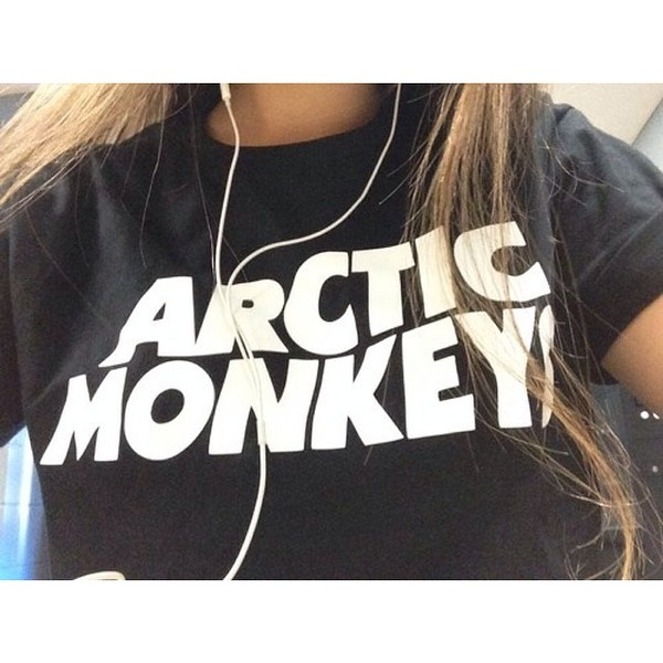 t-shirt arctic monkeys band t-shirt band t-shirt