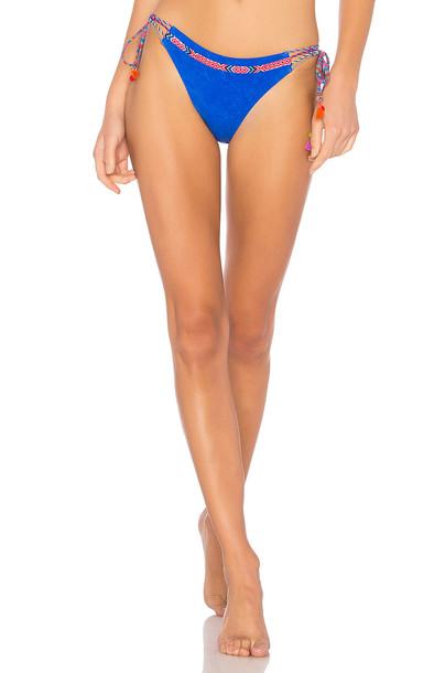Nanette Lepore bikini blue swimwear
