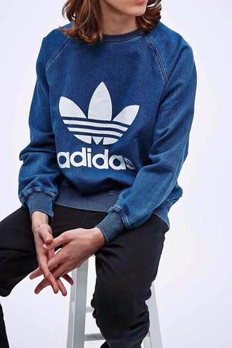 sweater adidas denim