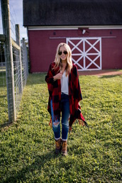 katie's bliss - a personal style blog based in nyc,blogger,jeans,blouse,bag,shoes,sweater,socks,jewels,duck boots,scarf,fall outfits