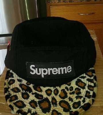Snapback Cap  Supreme  blk leopard  c2038e84433