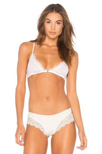 bralette white underwear