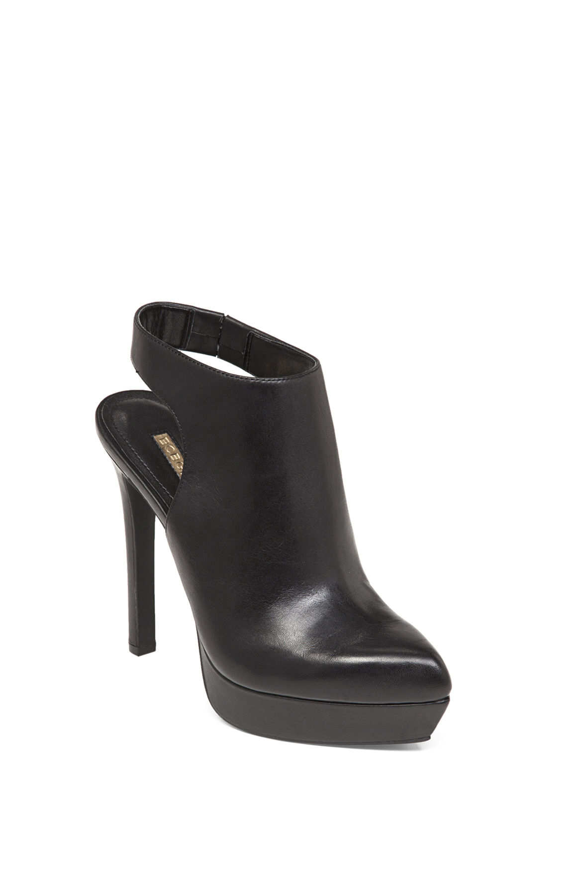 Sloan Pointed-Toe Slingback Bootie