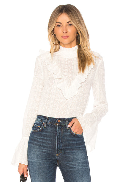 Endless Rose blouse white top