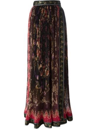 skirt maxi skirt maxi pleated
