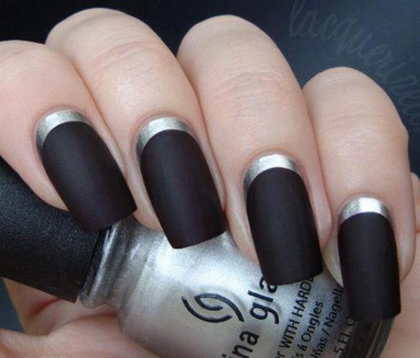 jewels, nails, nails, nail polish, doormat, matt, nail art - Wheretoget