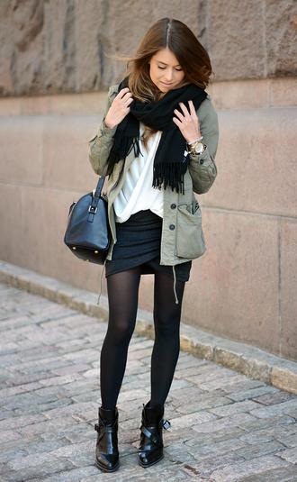 mariannan sweater shoes bag jacket skirt scarf