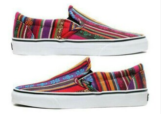 shoes vans hippie cute alternative indi printed vans