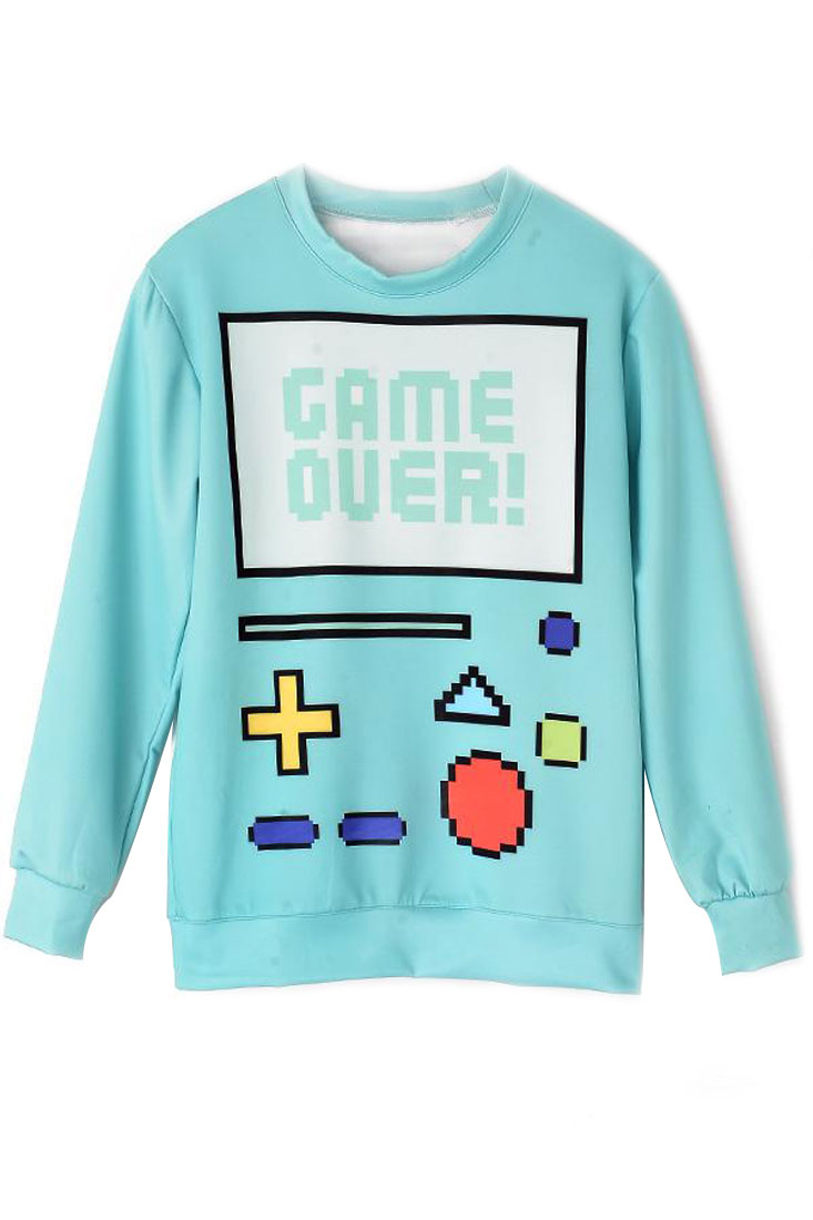Game Over Sweatshirt - OASAP.com