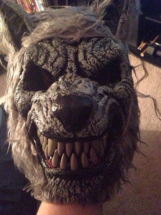 mask wolf halloween costume halloween hair accessories