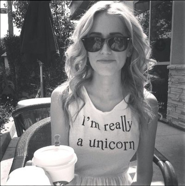 tank top cute unicorn